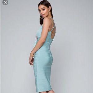 1ef4d01cd4f bebe Dresses - Bebe Minerva tie bandage dress